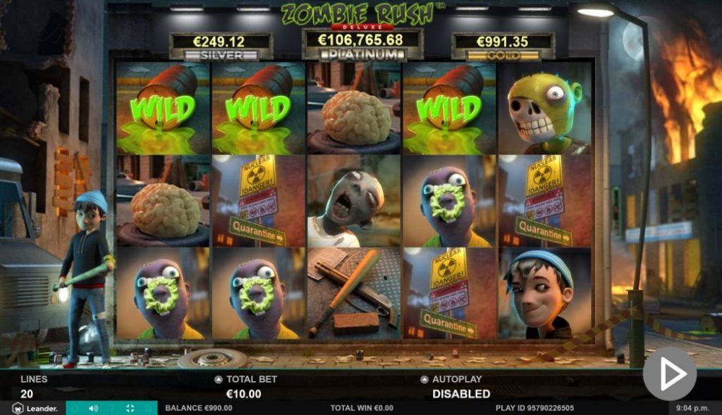 Spelet Zombie Rush slot