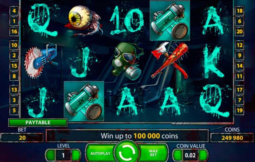 Spelet av Zombies online slot spel
