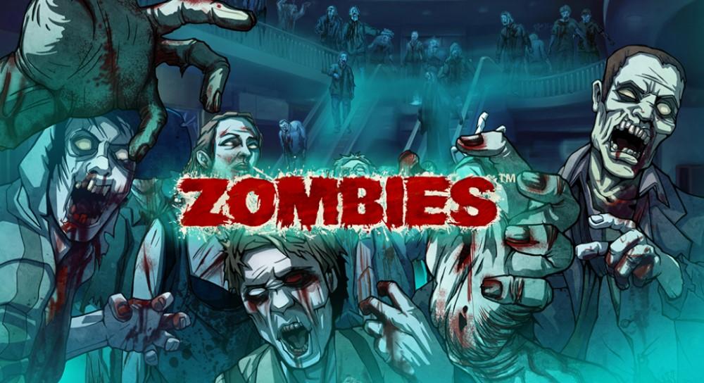 Zombie attack i online slot spel Zombies