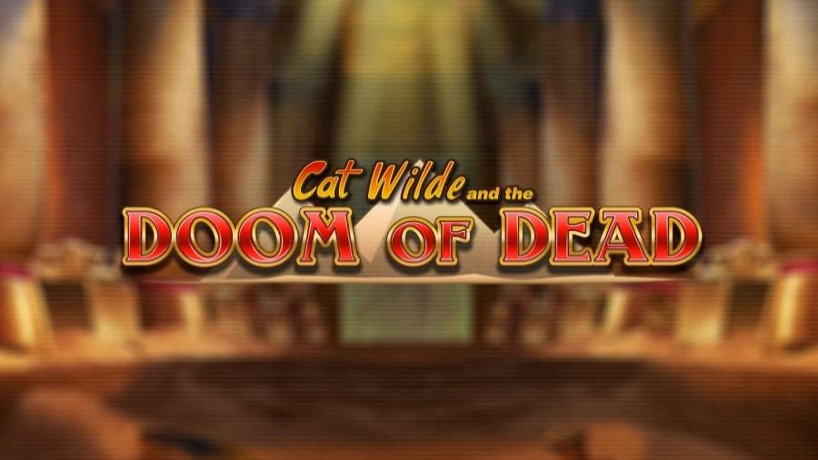 Logotypen Cat Wilde and The Doom of Dead slot med bonusar