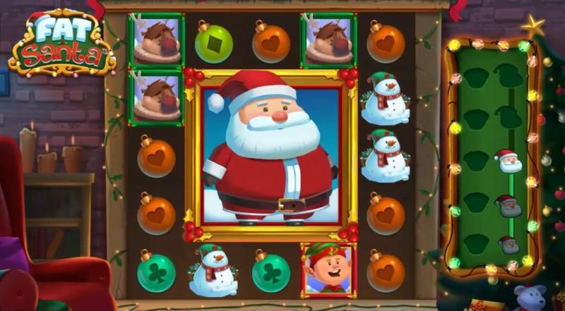 Spelet av Fett Santa online slot spel