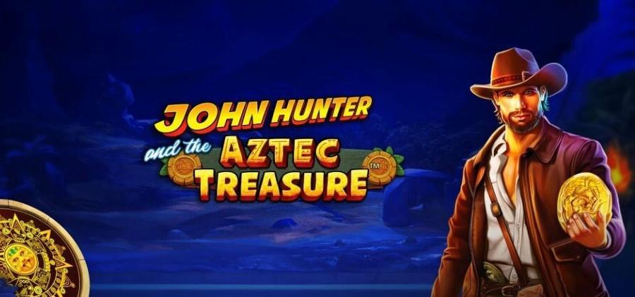 John Hunter and the Aztec Treasure spelautomat med bonus