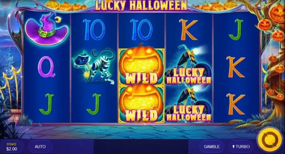 Spelet Lucky Halloween slot spel