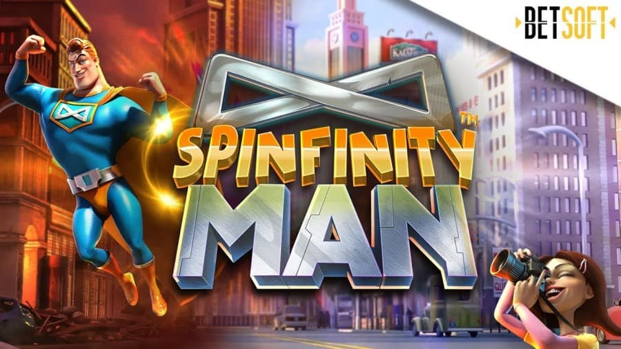 Spinfinity Man spelautomat med stor bonus
