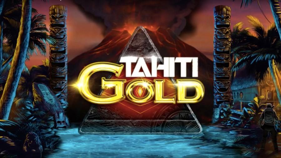 Logotyp på Tahiti Gold online bonus slot spel