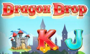 Logotypen för Dragon Drop Online Slot