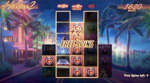 Free spins bonusar Hotline 2 online slot från NetEnt