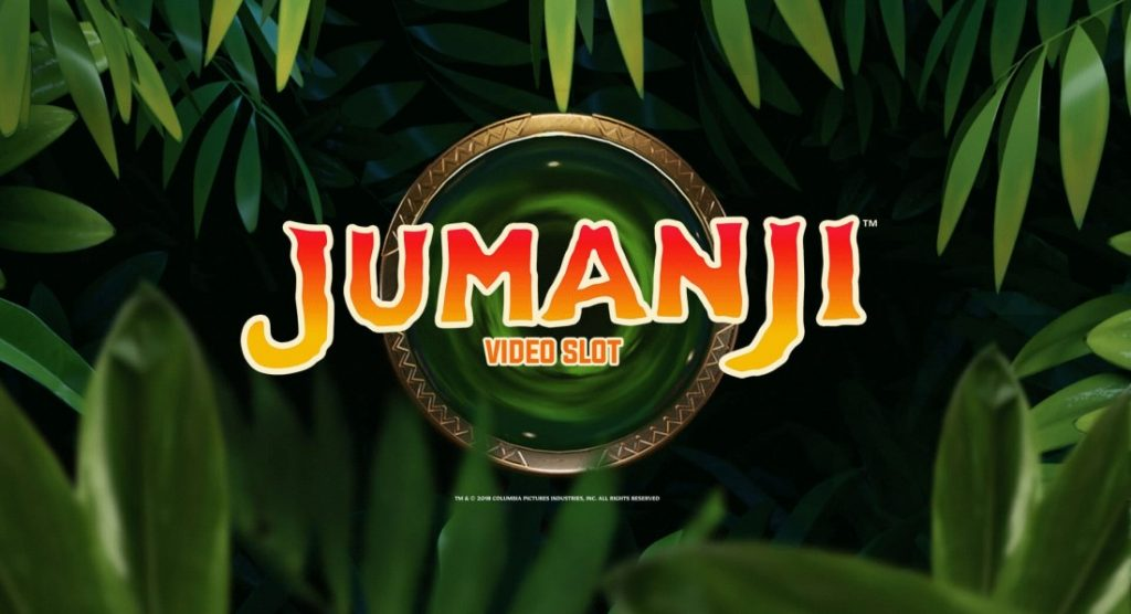 Logotypen för Jumanji Online Slot från NetEnt