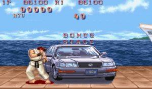 Car Smash Bonus Spel inslag av Street Fighter 2: World Warrior video slot från NetEnt
