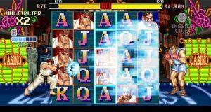 Det Nederlag som Symbol för Street Fighter 2: World Warrior online slot från NetEnt