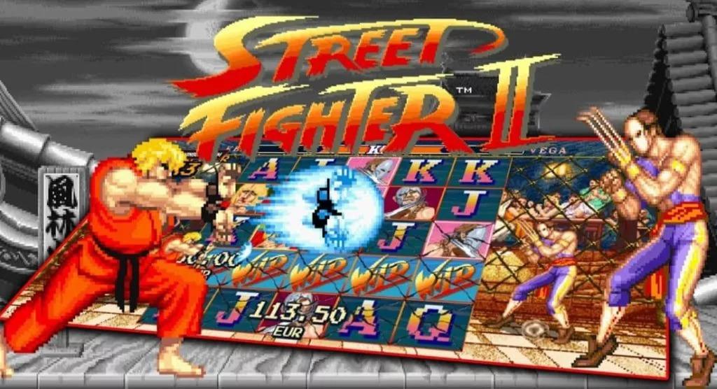 Huvudpersonerna i Street Fighter 2: The World Warrior slot från NetEnt