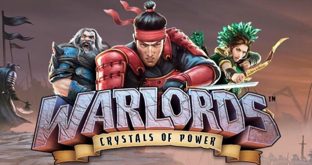 Huvudpersonerna i Warlords: Kristaller av Makt Slot från NetEnt